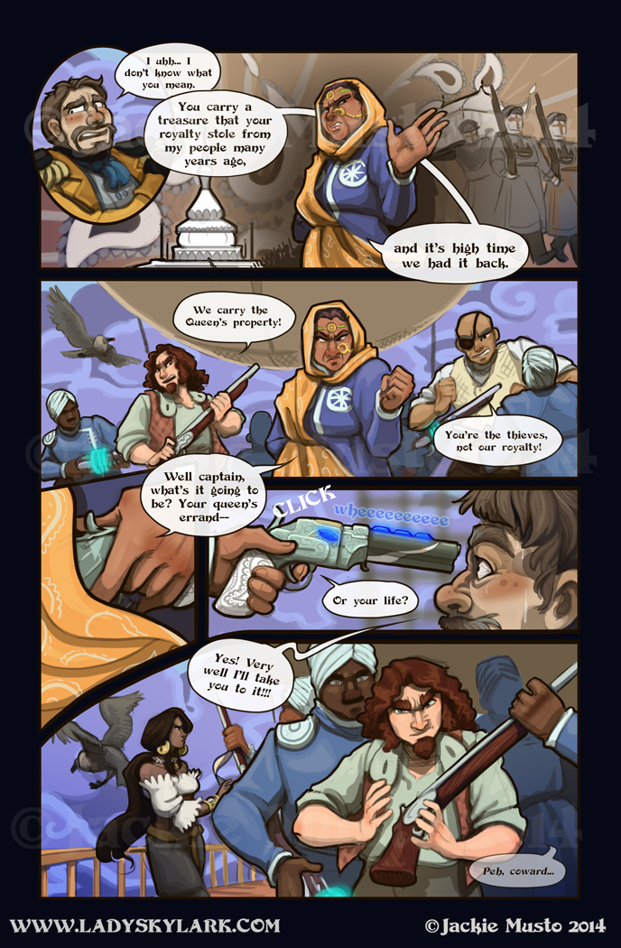 Lady Skylark and the Queen's Treasure - Page 148