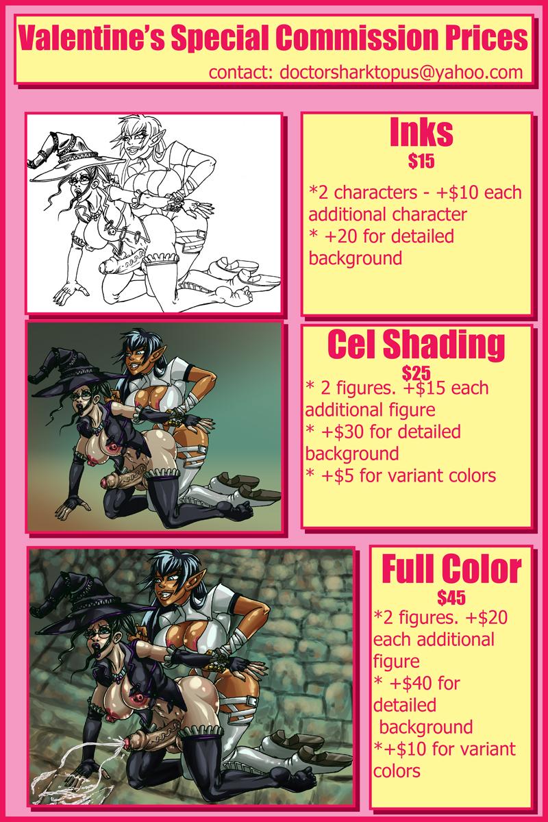 Bonus: Valentine's Commission Prices