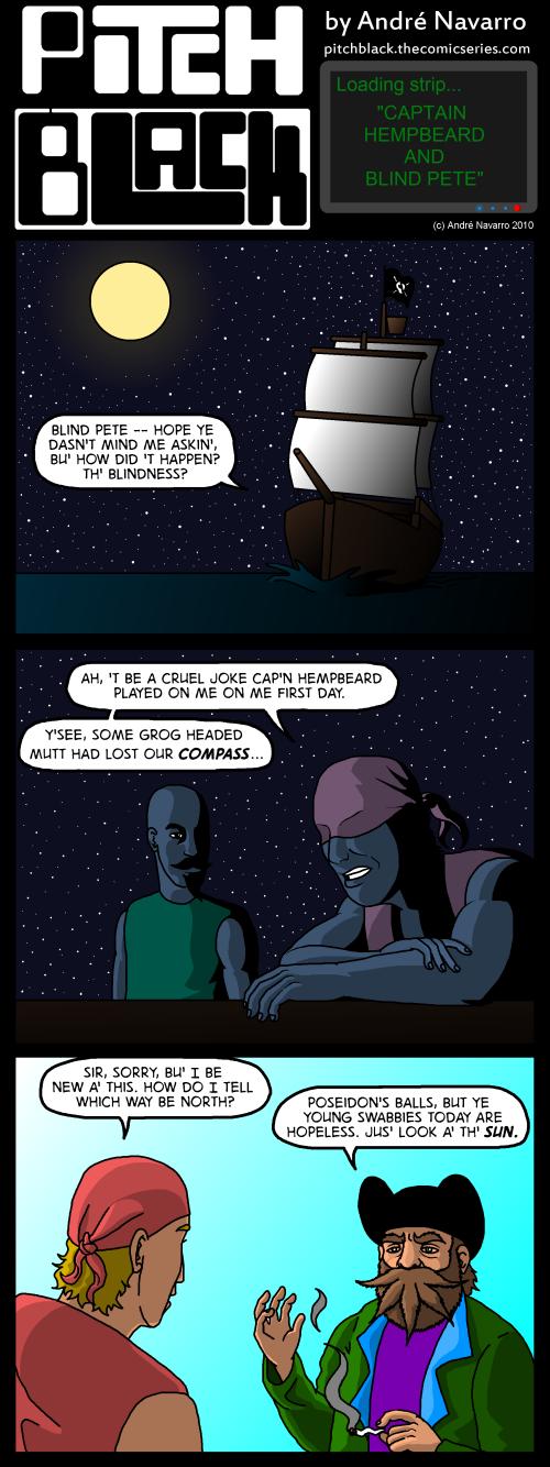 Captain Hempbeard And Blind Pete