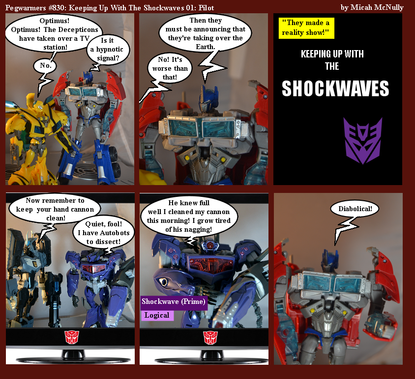 830. Keeping Up With The Shockwaves 01: Pilot