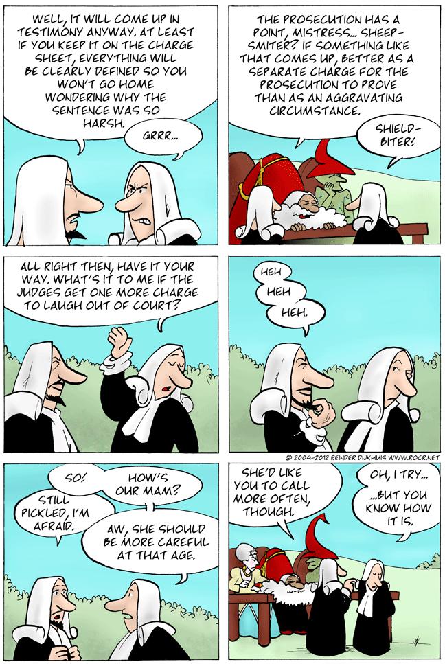Disputes within disputes