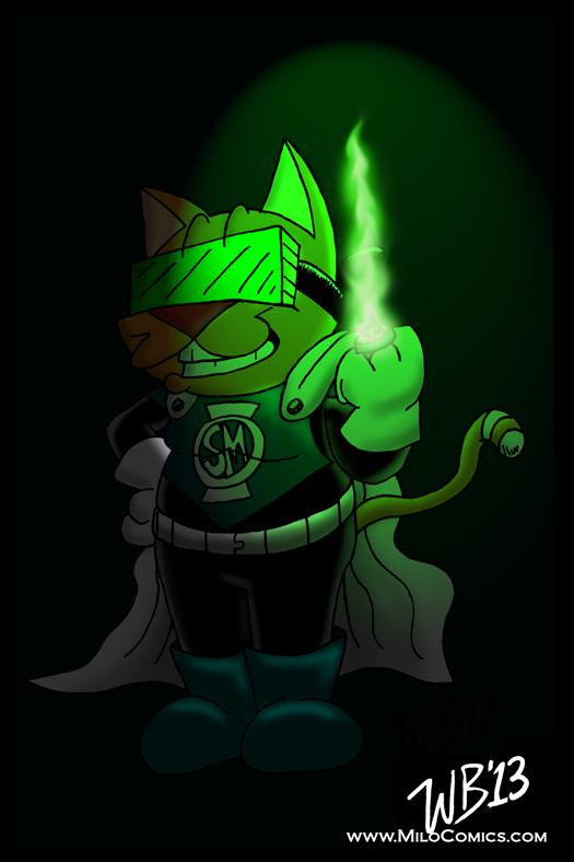 Green Lantern SuperMilo