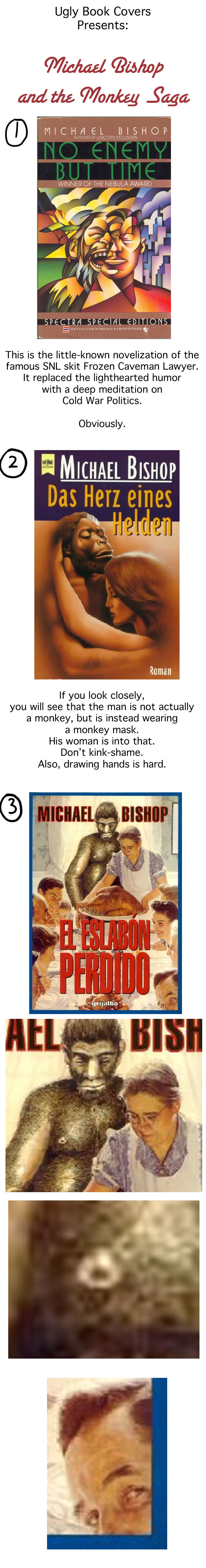 Michael Bishop Loves Monkeys