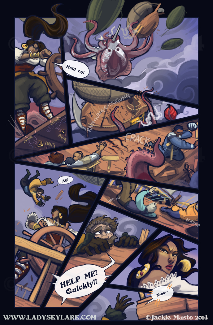 Lady Skylark and the Queen's Treasure - Page 158