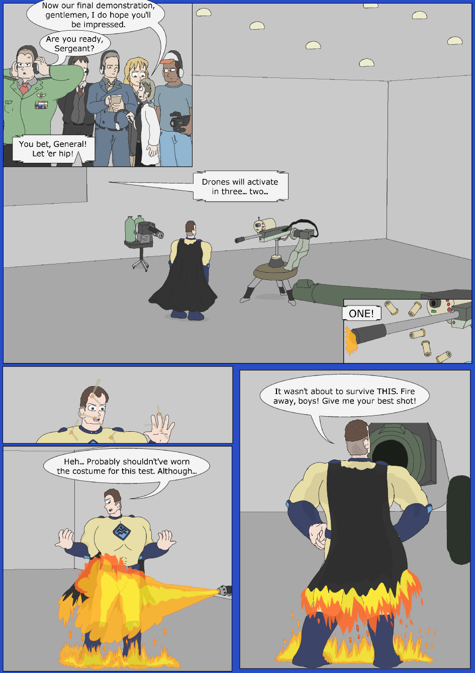 Blue Debut, Page 8