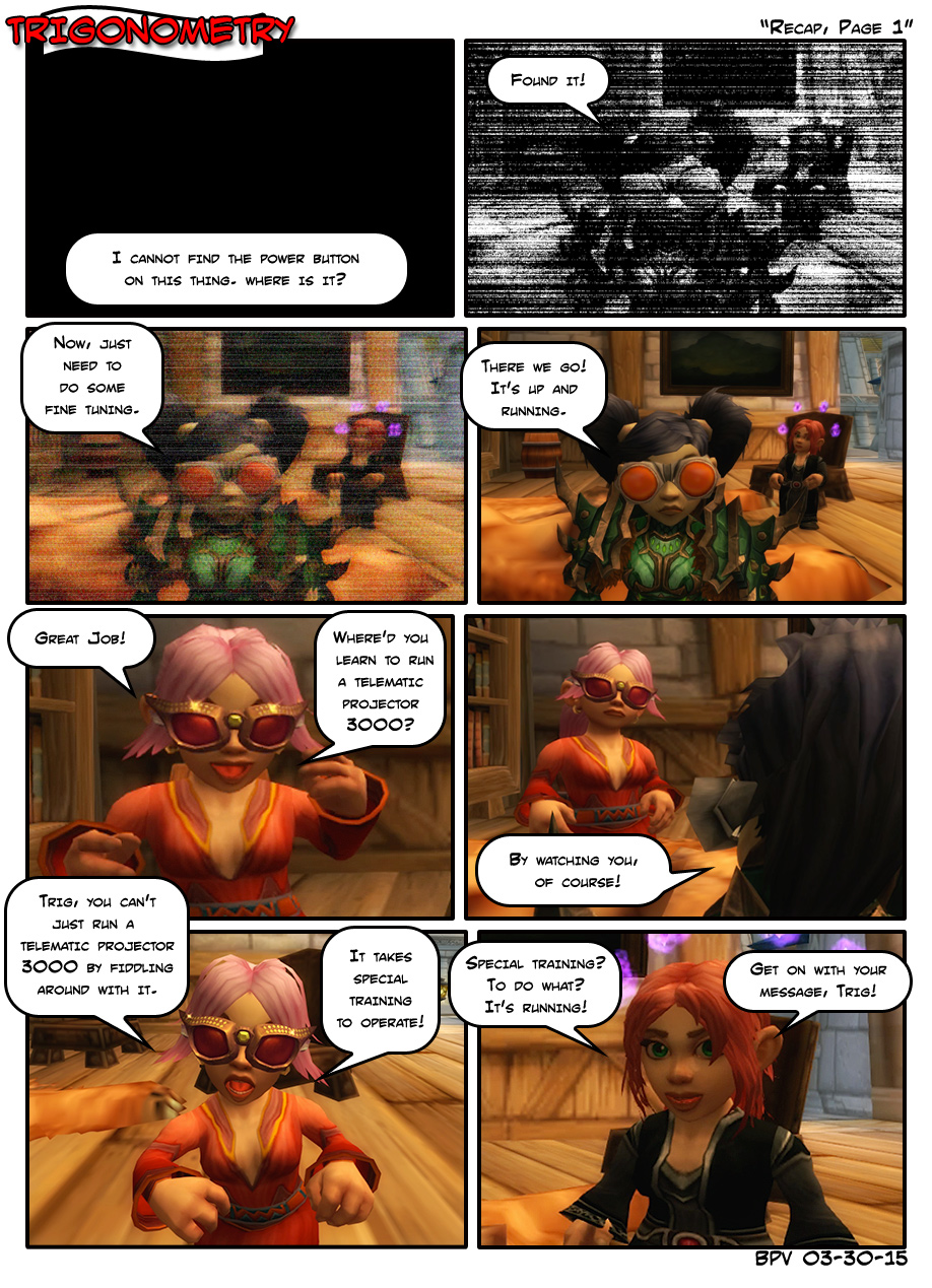 Recap, Page 1