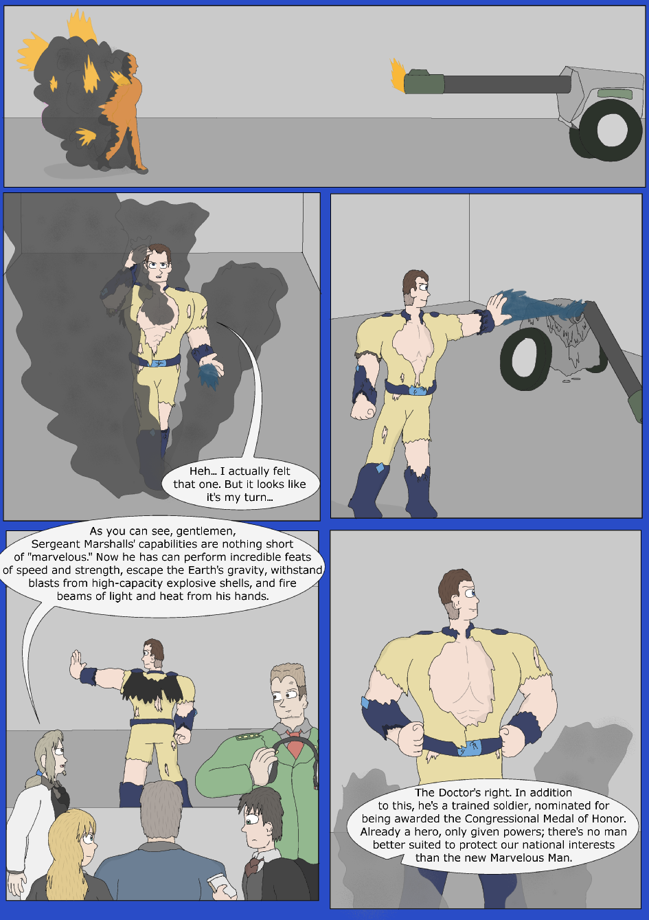 Blue Debut, Page 9