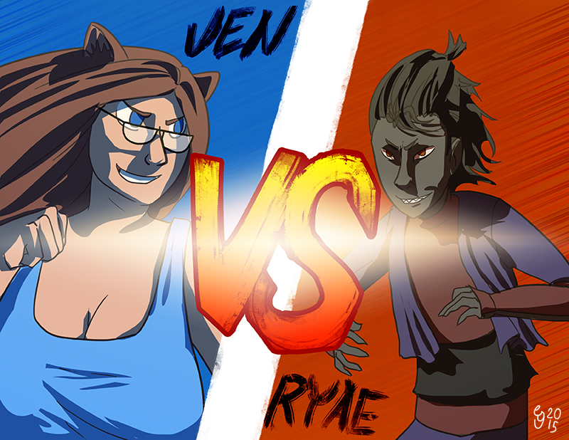 jen vs Ryae part 2