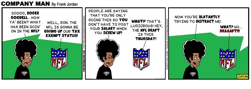 The #NFL, say whaaaat!?