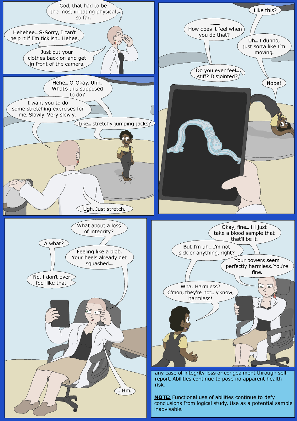 Blue Debut, Page 14
