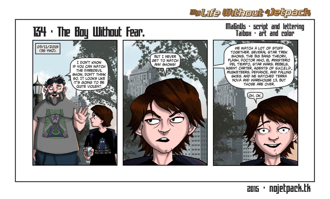 134 - The Boy Without Fear.