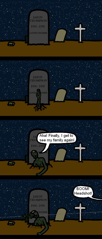 Unlucky Zombie