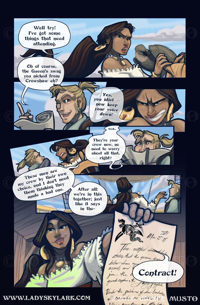 Lady Skylark and the Queen's Treasure - Page 166