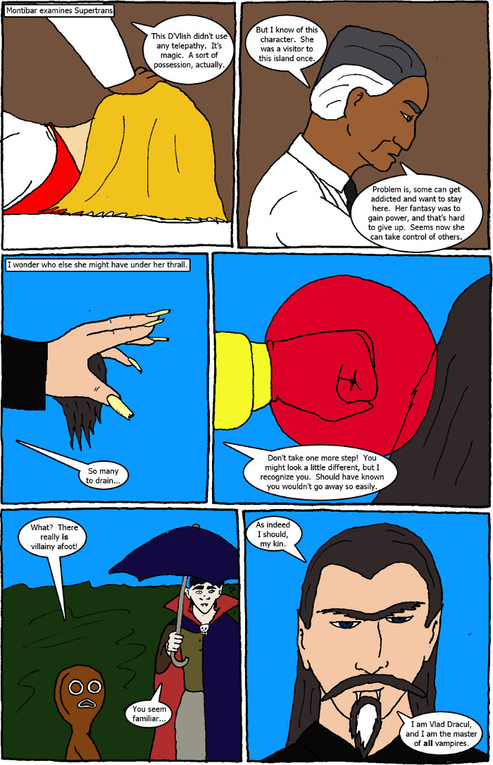 Page 7: issue 2 - D'Vlish Attacks