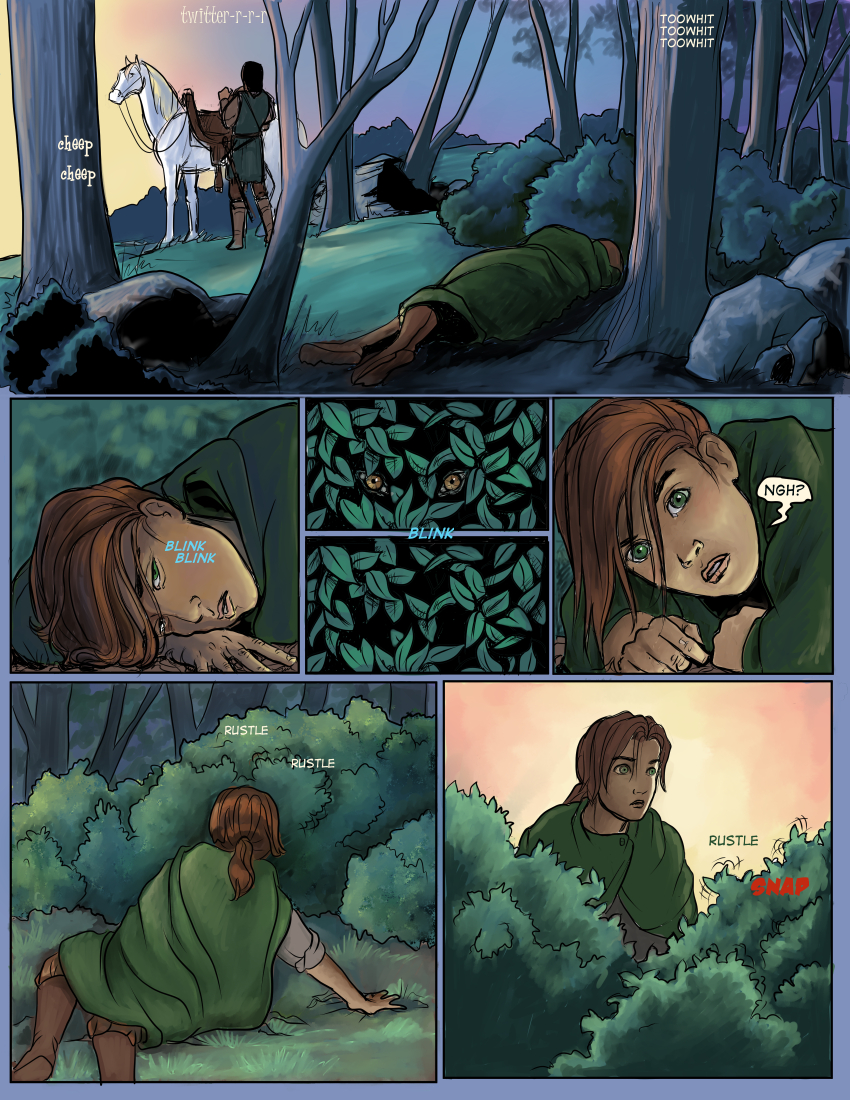 Chapter Three: Page One