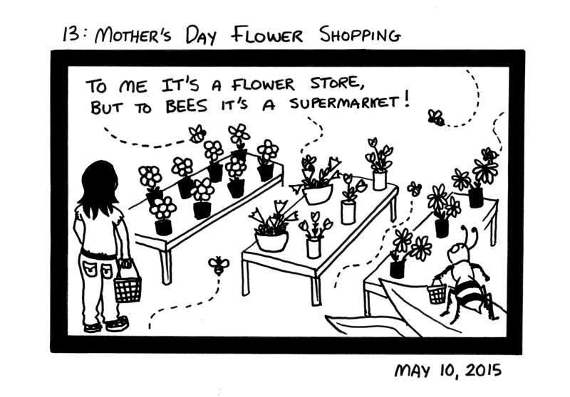 Mother's Day Flower Shopping