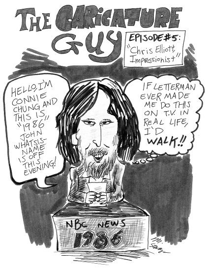 Caricature Guy, episode 5 (1986)