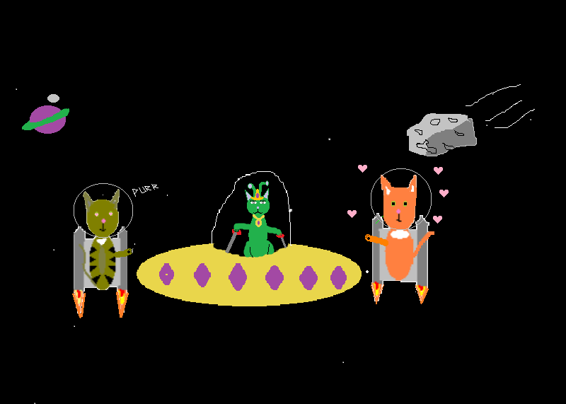 #93 Cats in Space VI