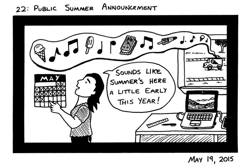 Public Summer Announcement