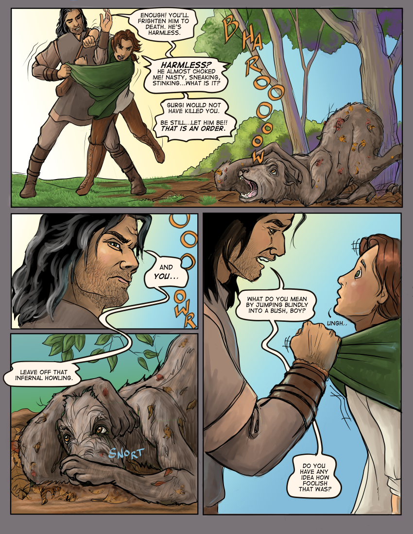 Chapter Three: Page Four