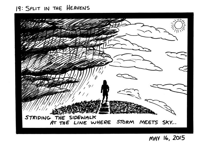 Split in the Heavens