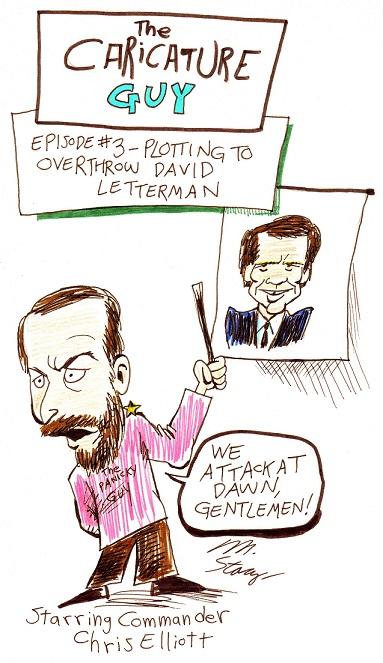 Caricature Guy, episode 3 (1986)