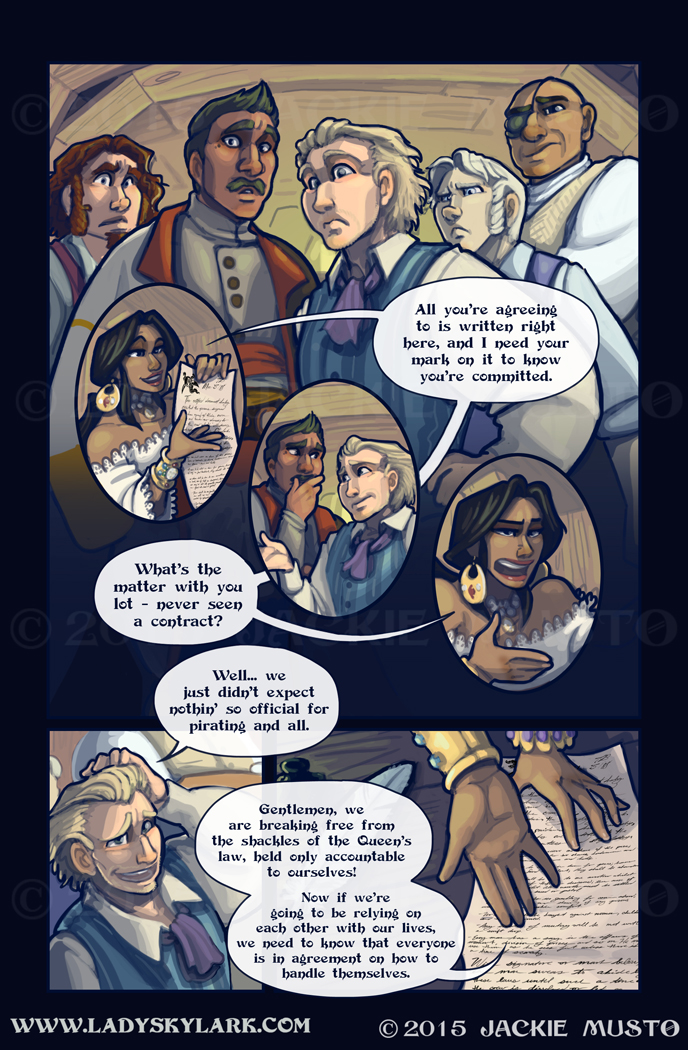 Lady Skylark and the Queen's Treasure - Page 167