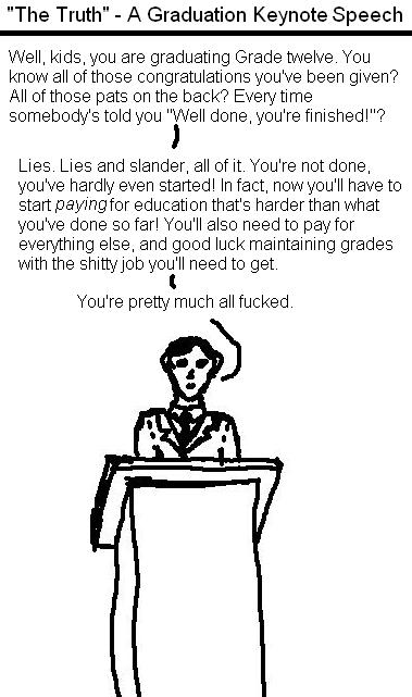 If keynote speeches told the truth...