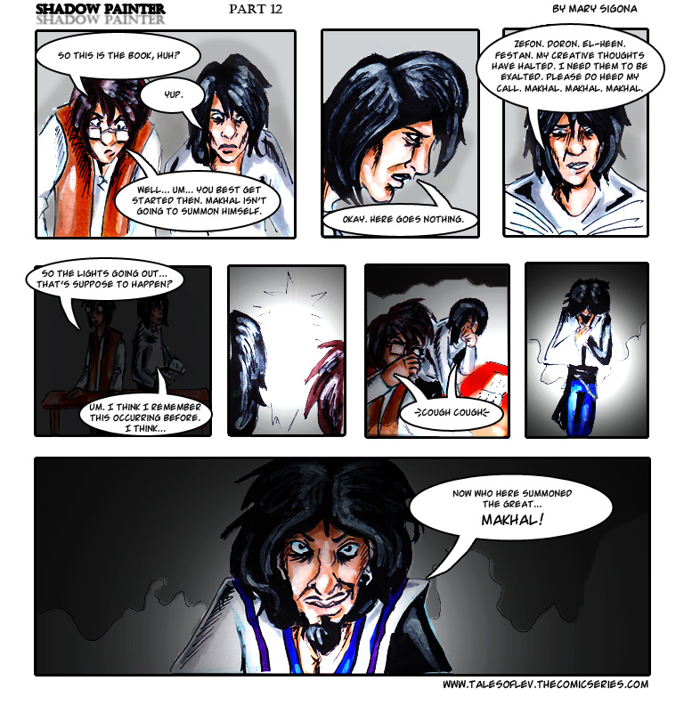 Shadow Painter: Part 12