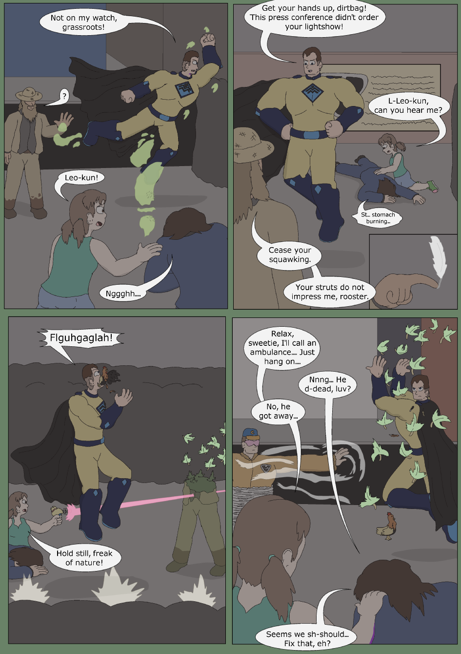 Blue vs. Green, Page 3