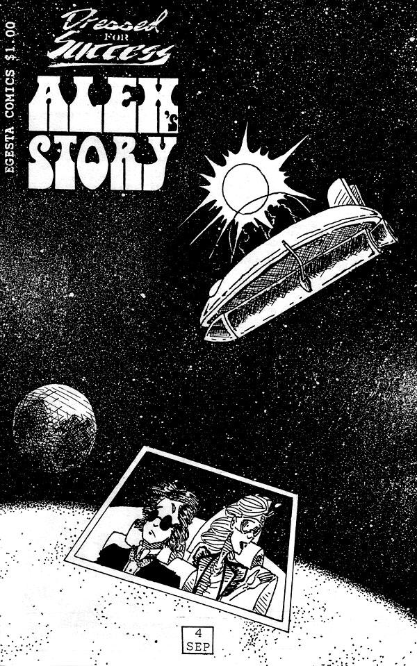 Alex's Story - Cover