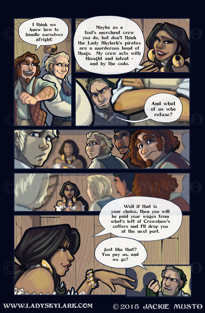Lady Skylark and the Queen's Treasure - Page 168