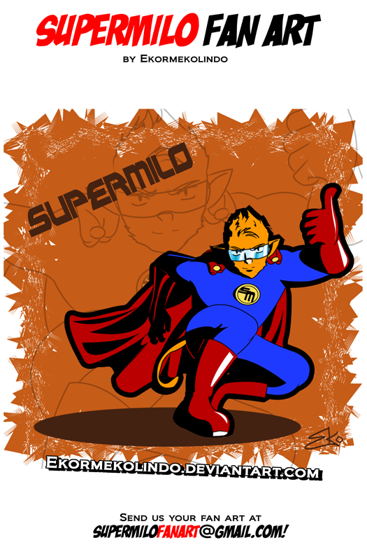 SuperMilo Fan Art 12