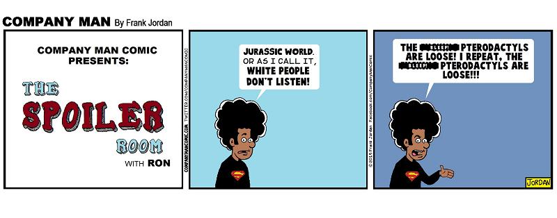 The Spoiler Room: #JurassicWorld2ElectricBoogaloo! 6/22/15
