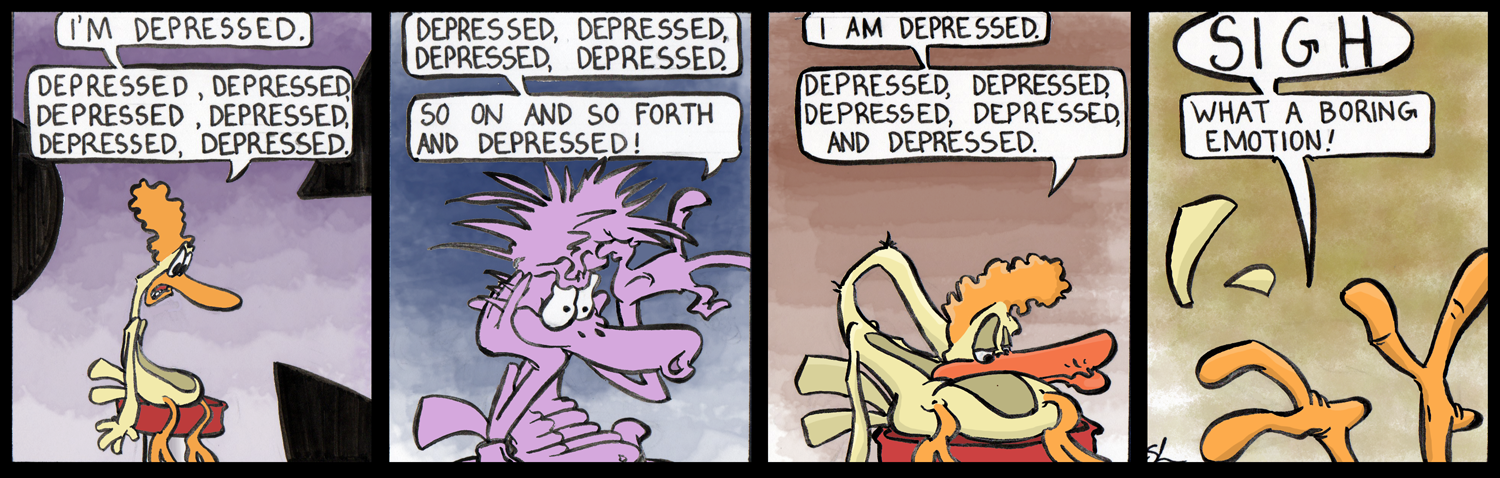 In Which Francis is Depressed