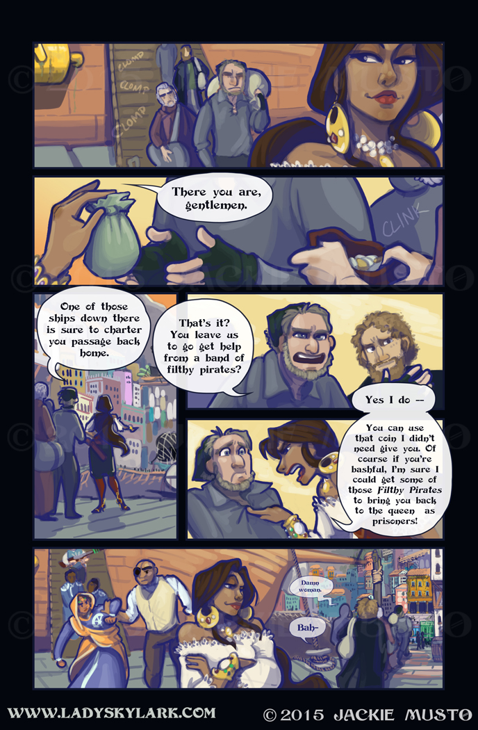 Lady Skylark and the Queen's Treasure - Page 173