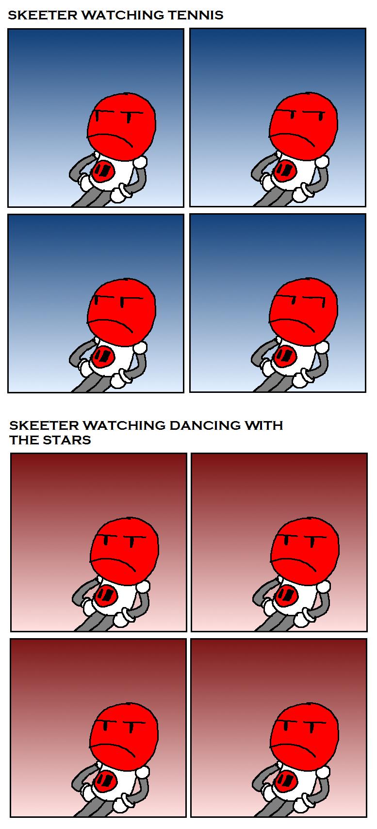 Skeeter Watching Sport