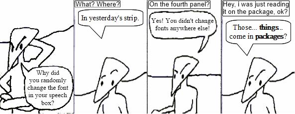 Author Laziness