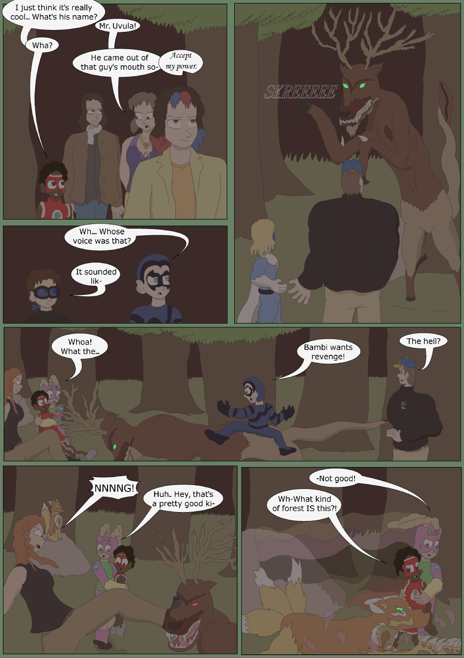 Blue vs. Green, Page 15