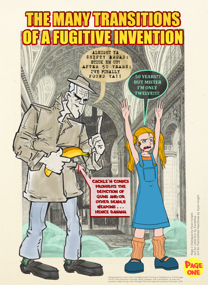 The Many Transitions of a Fugitive Invention