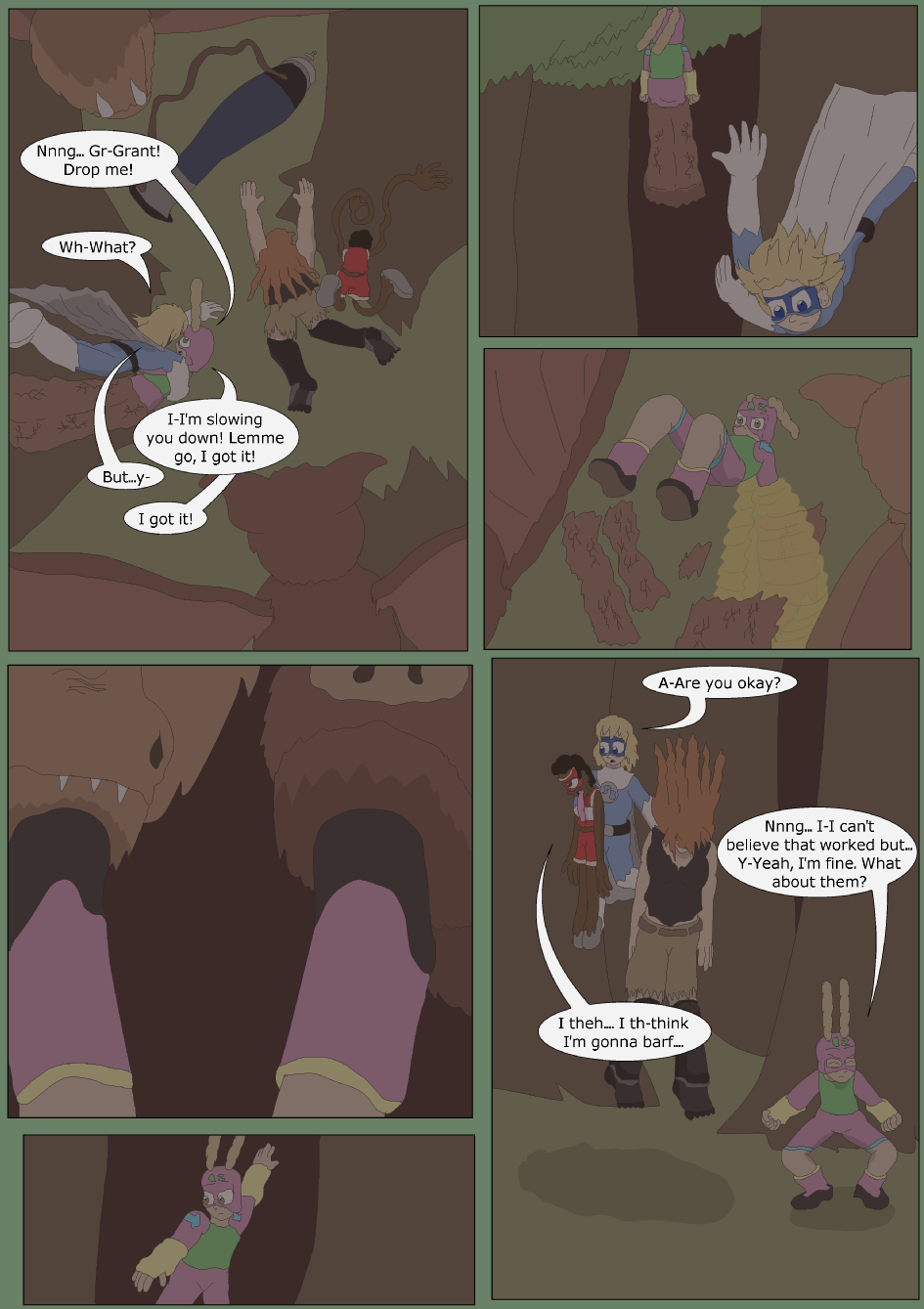 Blue vs. Green, Page 22