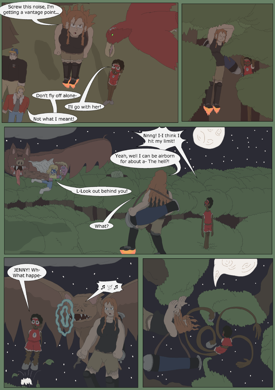 Blue vs. Green, Page 21