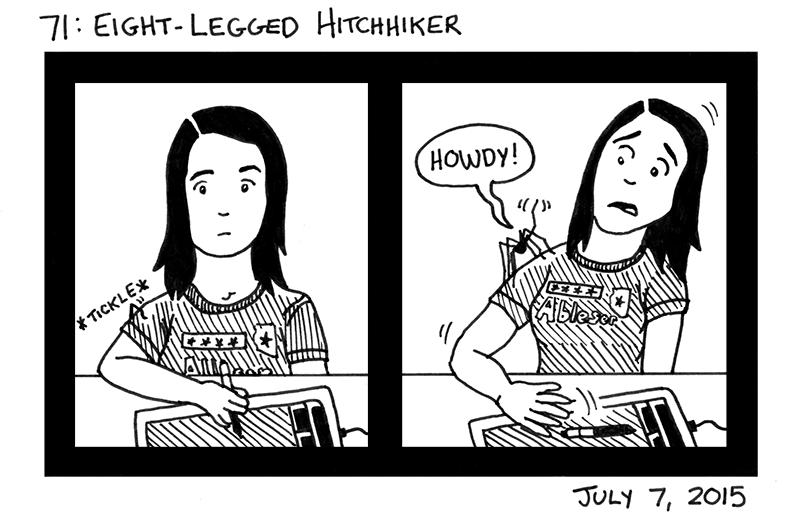 Eight-Legged Hitchhiker