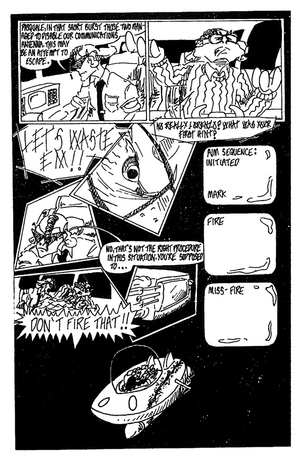 In Space One Man Can Hear You Scream - Page 6