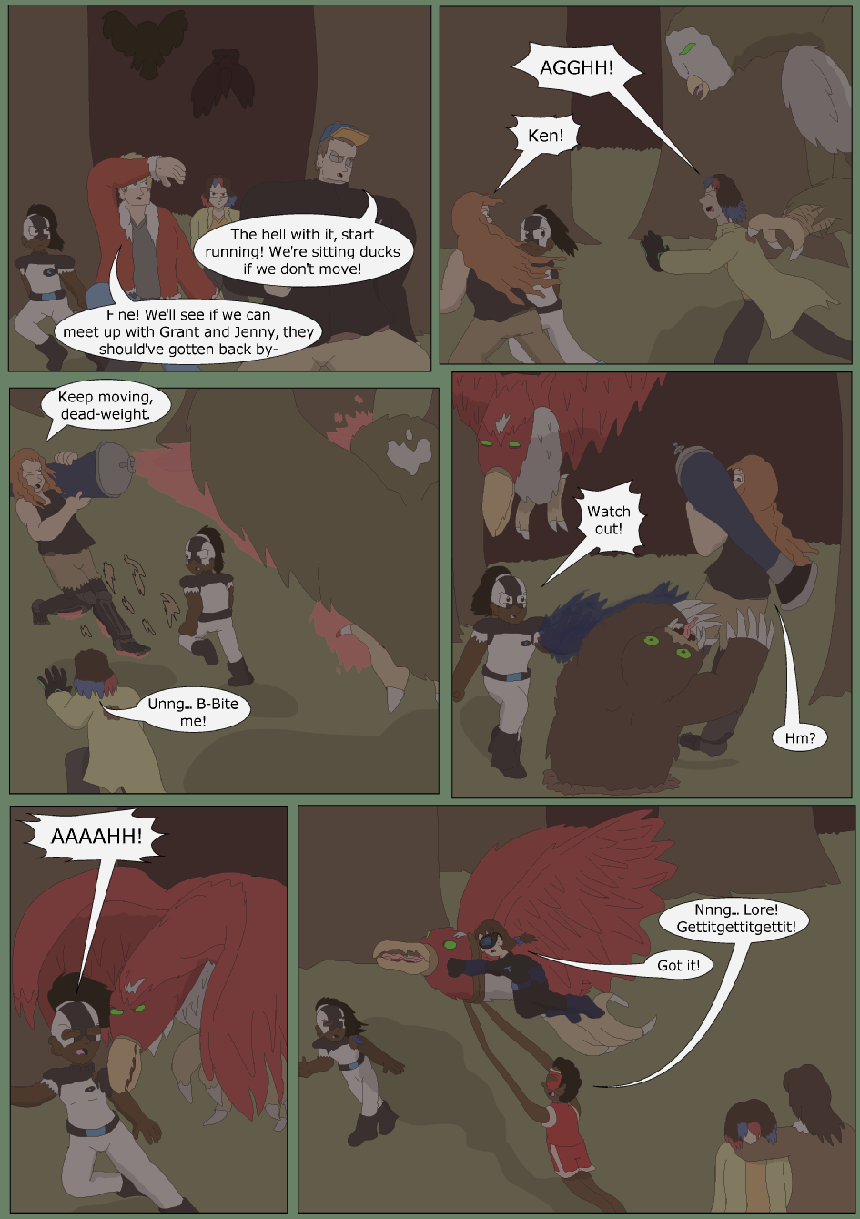 Blue vs. Green, Page 20