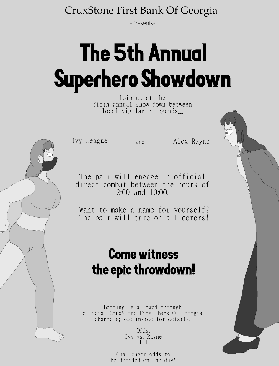 Filler: Superhero Showdown!
