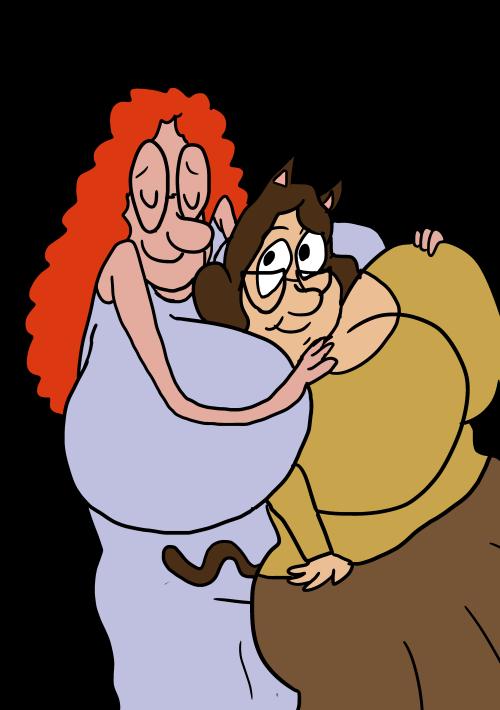 missj and jen by eggie