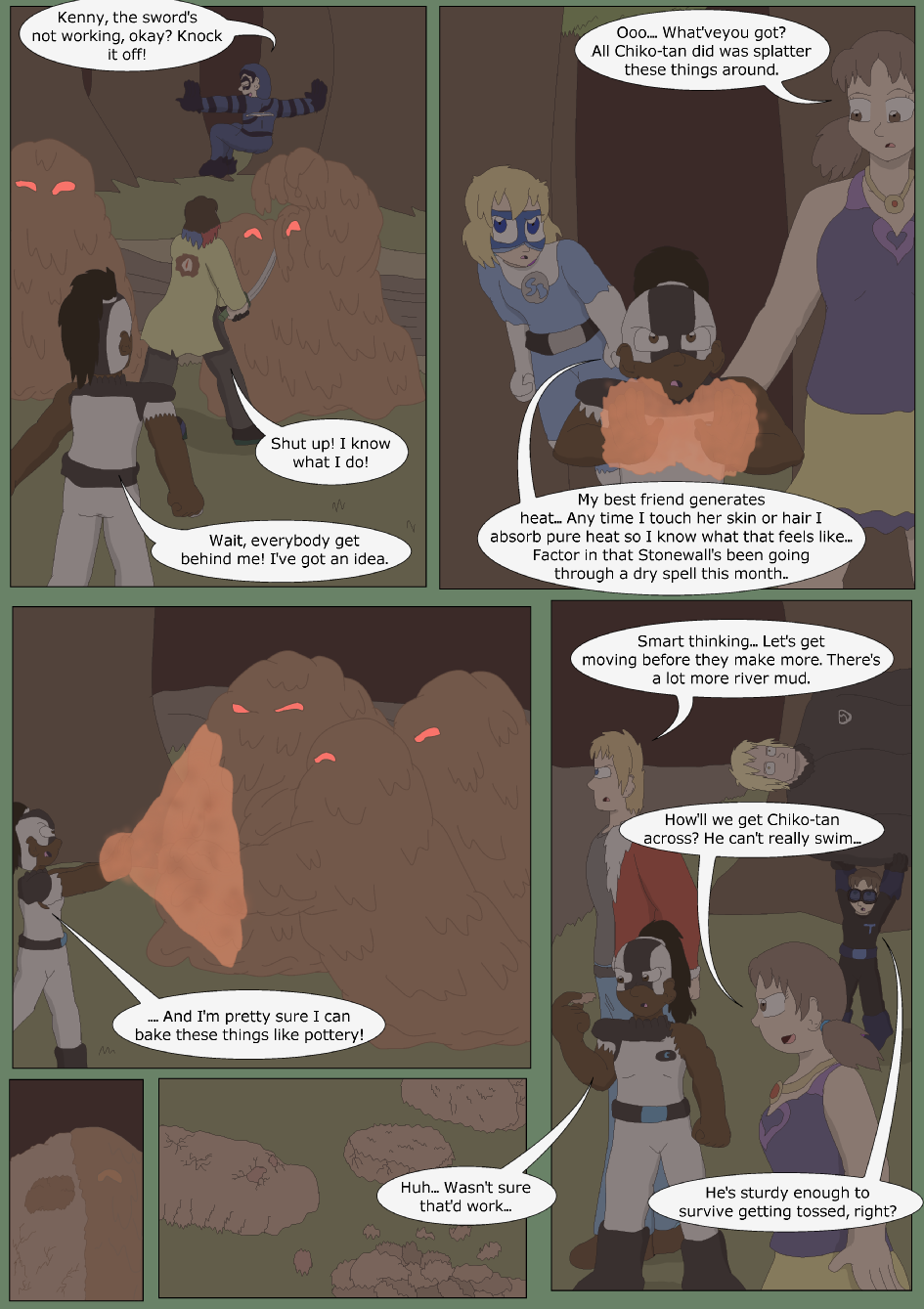 Blue vs. Green, Page 25