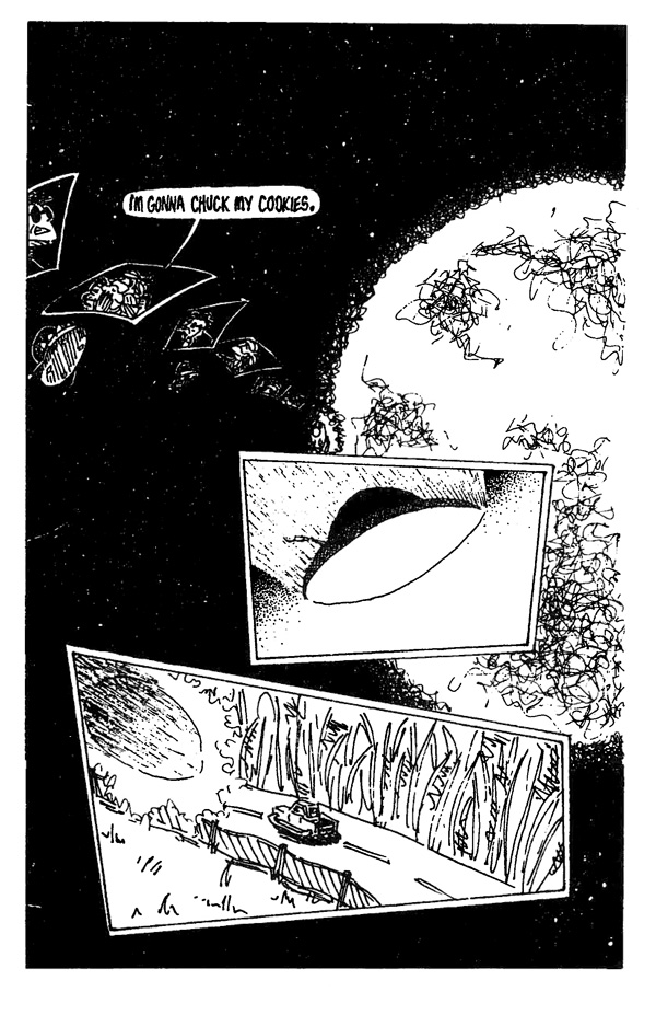 In Space One Man Can Hear You Scream - Page 15
