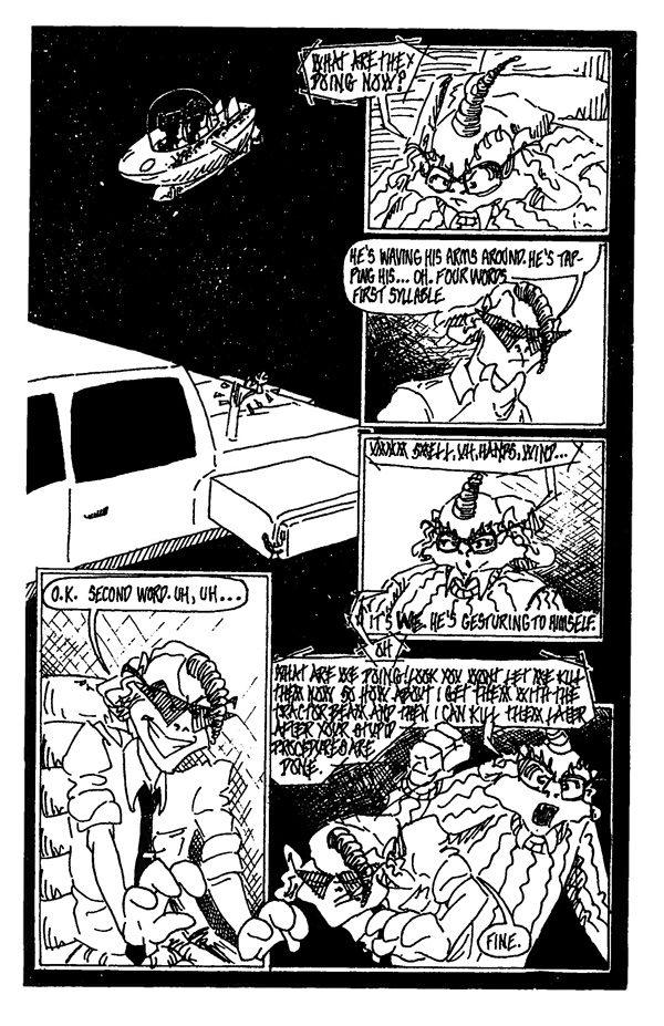 In Space One Man Can Hear You Scream - Page 11